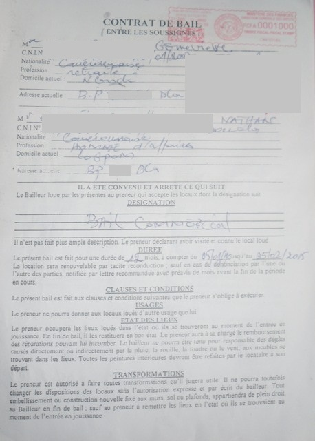Eregulations Douala