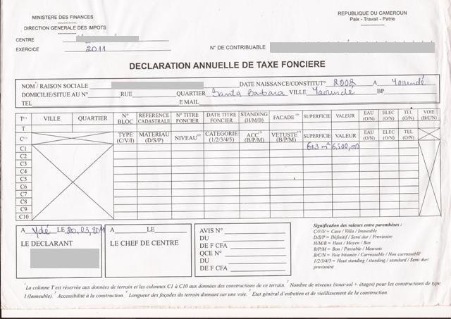 Modele quittance taxe fonciere document online - Exoneration de taxe d habitation plafond de revenus ...